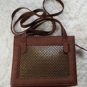 Stuart Weitman Rust Colored Bag